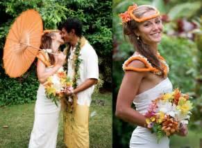 s eco hawaiian wedding eco beautiful weddings the e magazine for eco - Hawaiian Wedding