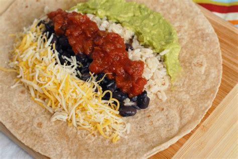 guacamole black bean burritos alisons allspice