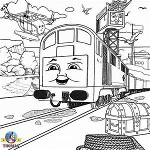 Thomas Diesel 10 Coloring Pages Coloring Pages