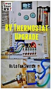 Hunter 42999b Digital Rv Thermostat