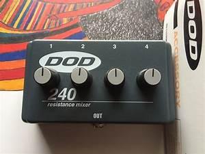 Dod 240 Passive Resistance Mixer