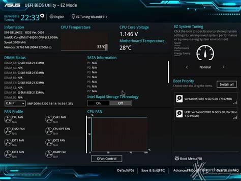 Asus Modified Bios Repository by Asus X99 Deluxe Ii 8 Uefi Bios Impostazioni Generali