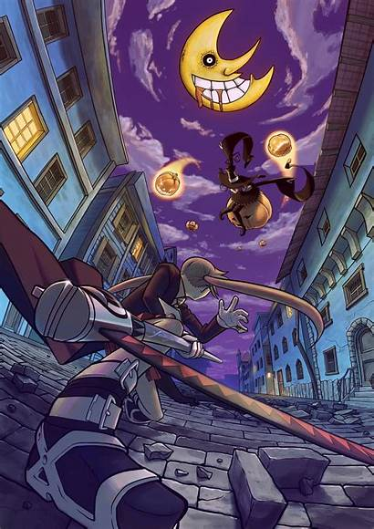 Soul Eater Anime Manga Maka Blair Sorcerer