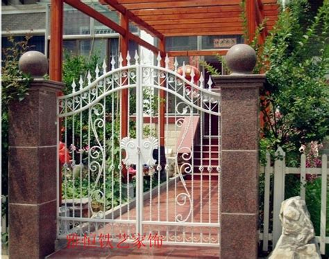 continental iron door entrance factory fence gate outdoor