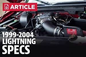 Ford Lightning Specs  99-04