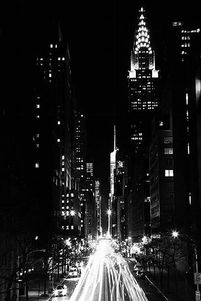 York Midnight Building Manhattan Chrysler Usa Commons