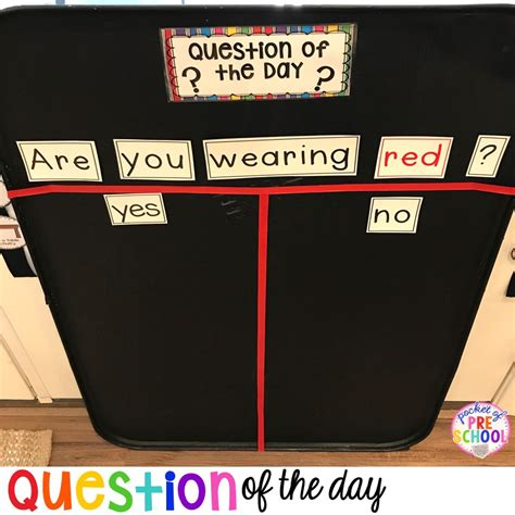 question of the day pocket of preschool 546 | Slide10