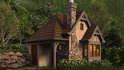 Plans Cottages Plan Tiny Whimsical Cottage Homes