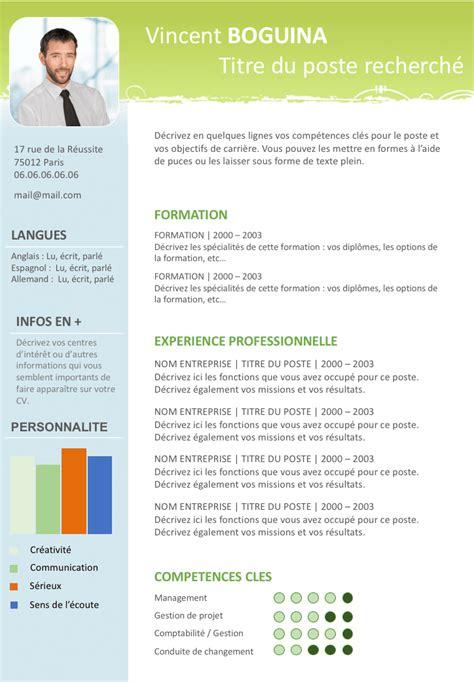 The Modern Resume Exle by Cr 233 Er Un Cv 28 Images Modern Cv Exle Original Cv