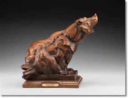 Sandy Scott Sculpture 방문하기 Bear