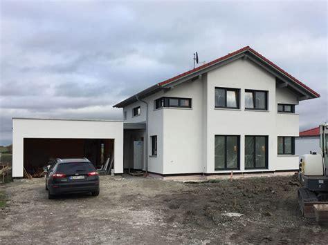 Garage Unter Einfamilienhaus by Einfamilienhaus Mit Garage In Burgbernheim Eg Holzhaus De