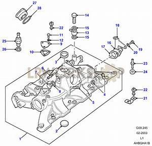 Inlet Manifold - V8 3 5l Carburetter