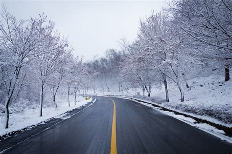 Snow Road Winter Ice Scenery 5k, Hd Nature, 4k Wallpapers, Images, Backgrounds, Photos And Pictures