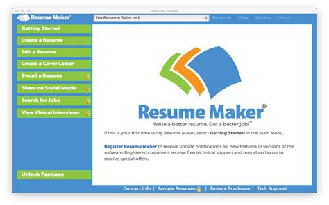 Easy Resume Creator Pro 4 12 For Mac by Resume Maker 174 Free 在 Mac App Store 上的内容