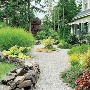 la deco de jardin originale et pratique parterre de With decoration jardin avec galets 7 parterre de fleur avec cailloux obasinc