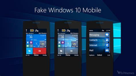Windows 10 Mobile Theme S40 240x320 S406th S405th