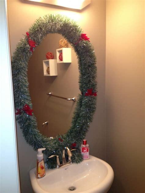 amazing christmas bathroom decoration ideas