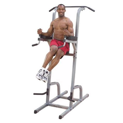 chaise romaine abdo solid vertical knee raise dip pull up commercial