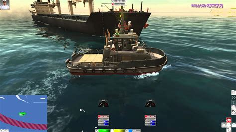 Tugboat Simulator Game by European Ship Simulator Mission 1 Pc 4k Gameplay 2160p
