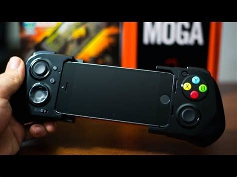 moga ace power gaming controller  iphone sc ipod touch  hands  demo review