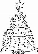 Christmas Coloring Pages Tree Disney sketch template