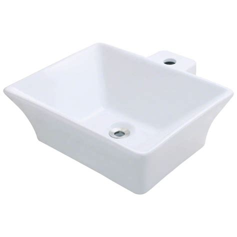 Mr Direct Vessel Sink by Mr Direct Porcelain Vessel Sink In White V290 W The Home