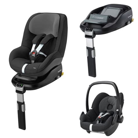 Maxi Cosi Familyfix Special Offer Package Pebble
