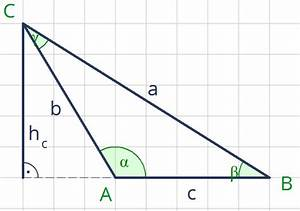 Wie Berechnet Man Die Höhe Eines Dreiecks : formel f r die berechnung der h he eines beliebigen dreiecks schule mathe mathematik ~ A.2002-acura-tl-radio.info Haus und Dekorationen