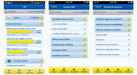 Servizio Clienti Poste Mobile by Assistenza Dall App Postemobile Postemobile