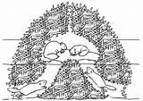 Castor Castores Maison Coloriage Colorare Coloring Dibujo Biberbau Disegno Colorear Castori Malvorlage Beaver Dibujos Kleurplaat Dam Hogar Desenho Dei Dos sketch template