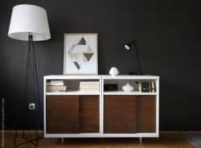 ikea besta mid century modern cabinet hack apartment