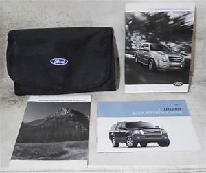 Ford Expedition 2013 Factory Original Oem Owner Manual