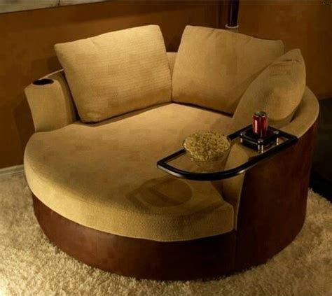 comfy chair with attached table home furnishings