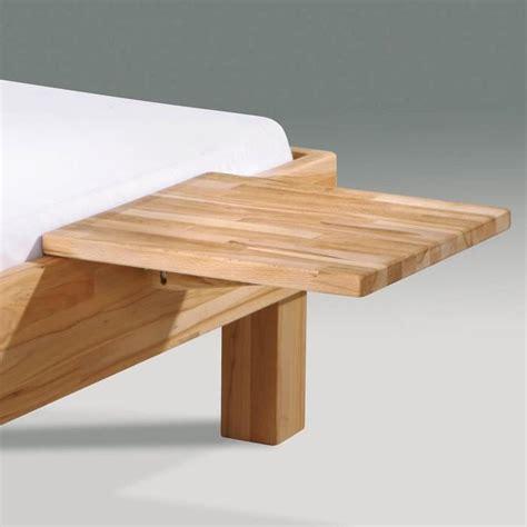 Table De Nuit En by Table De Nuit En H 234 Tre 224 Fixer Au Lit Mido Naturel Achat