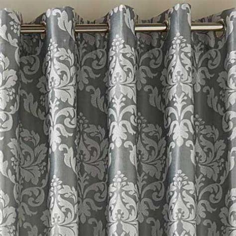 duck egg hallam damask lined eyelet curtains  mill shop