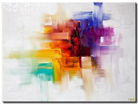 Painting For Sale Colorful Contemporary Abstract
