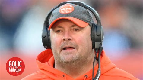 Freddie Kitchens was a bad hire by the Browns - Mike Golic ...