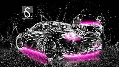 Neon Water Wallpapers Porsche Abstract Tony El