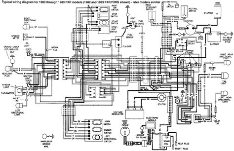 1988 Softail Handlebar Wiring Diagram by 1989 Harley Davidson Heritage Softail Wiring Diagram