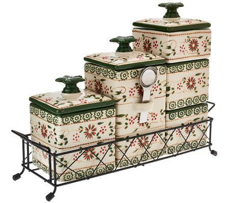 temptations kitchen accessories 17 best ideas about ceramic canister set on 2692