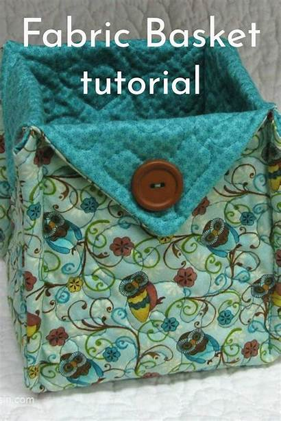 Fabric Sewing Basket Patterns