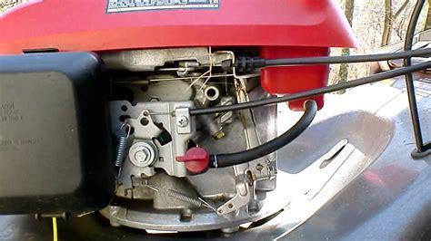 Honda Mower Problem Youtube