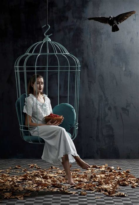 hanging chair  large birdcage shape cageling