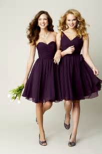 plum bridesmaid dresses purple bridesmaid dresses trendy dress