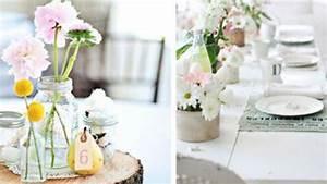 Faire Une Belle Table Pour Recevoir : d coration table 10 astuces pour la d co d 39 une jolie table c t maison ~ Melissatoandfro.com Idées de Décoration