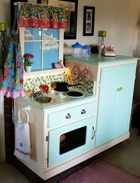 play kitchen ideas in search of the of furniture to repurpose