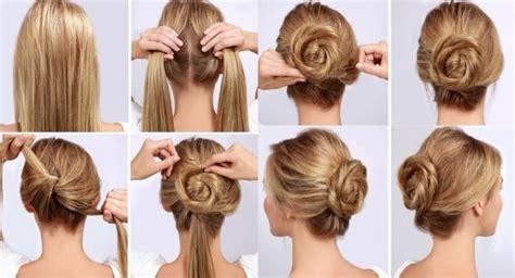 peinados faciles paso  paso  pelo largo