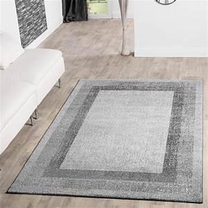 Teppich Grau Silber : moderner teppich wohnzimmer velours teppiche bord re silber grau sale sales ~ Markanthonyermac.com Haus und Dekorationen