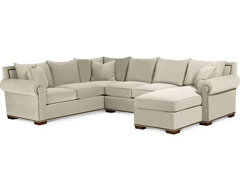 thomasville leather sofa with chaise thomasville furniture sofa sofas living room thomasville