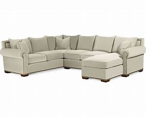 Fremont sectional living room furniture thomasville for Thomasville sectional sofas